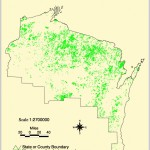 Map of northern Wisconsin's Marshes & Wetlands