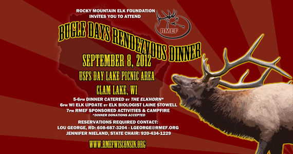 Elk Bugle Days Rendezvous In Clam Lake Wisconsin