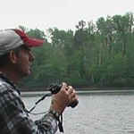 Dr. Walter Piper Studying Northern Wisconsin Loons